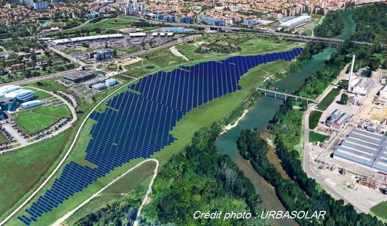 centrale solaire de l'Oncopôle